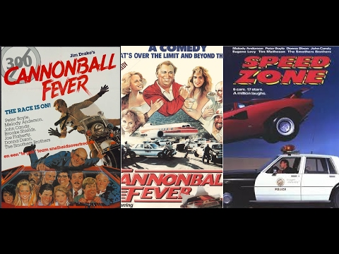 Speed Zone aka Cannonball Run 3 (1989) Movie Review
