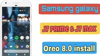 How to install oreo 8 1 theme j7 prime j7 pro videos