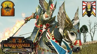 MR. STEAL YOUR GIRL vs. THE LICHE KING - High Elves vs. Tomb Kings - Total War Warhammer 2