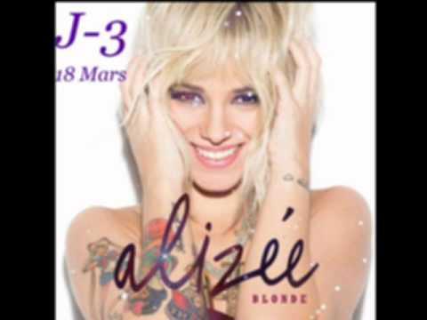Alizée nouveau look BLONDE