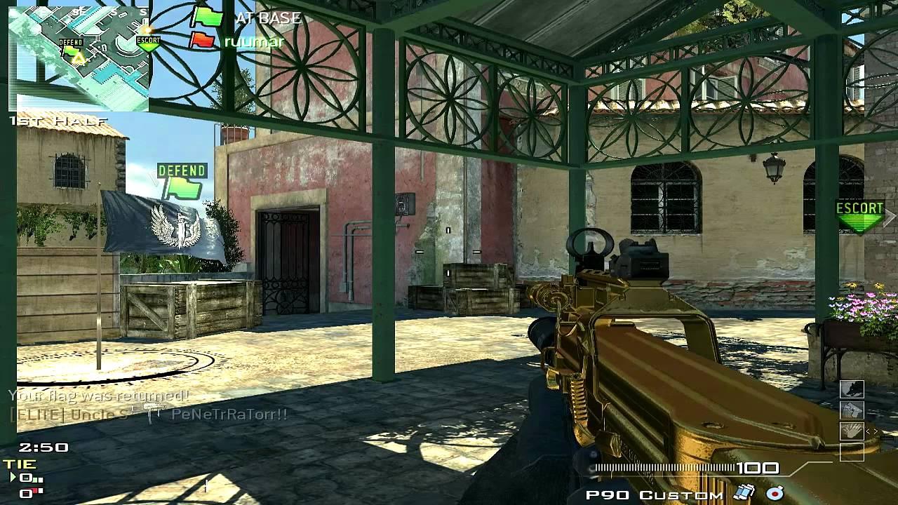 MW3 PC DLC! CTF = Hockey (Modern Warfare 3 Gameplay/Commentary)