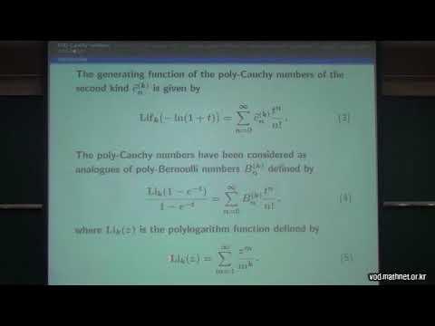 Takao Koamatsu / a-, q-, \lambda generalization of poly-Bernoulli numbers and poly- Cauchy numbers.