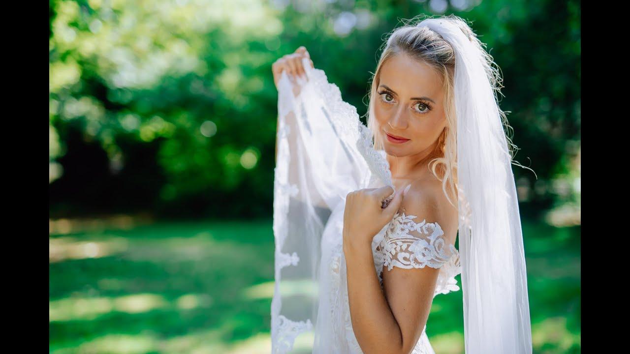 Bildbearbeitung: Professionelle Bildbearbeitung bei einer Braut