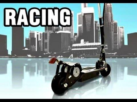 Takira V8 E-Scooter/Elektroroller [Unboxing+Testfahrt+Highspeed] CRASH :D