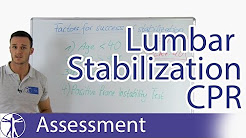 Hicks Clinical Prediction Rule for Lumbar Spine Stabilization