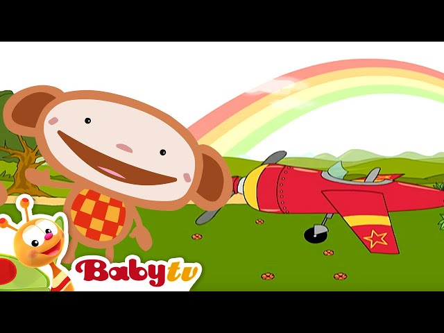 Oliver | Avión | BabyTV Español