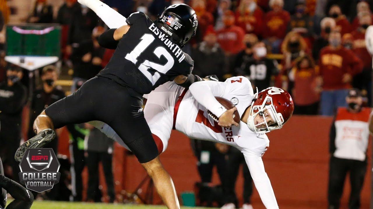 Oklahoma Sooners vs. Iowa State Cyclones   2020 College Football Highlights