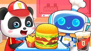 Robot Hamburger House | Colors Song, Learn Colors, Food Song | Kids Songs | Kids Cartoon | BabyBus