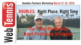 DOUBLES:  The 7 Partners Court Positioning Strategies - WORKSHOP March 21-22, 2016