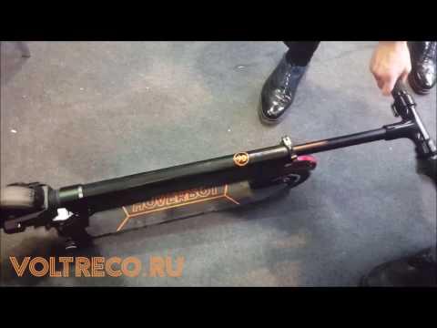 Электросамокат Hoverbot F-7 Premium Обзор Voltreco.ru