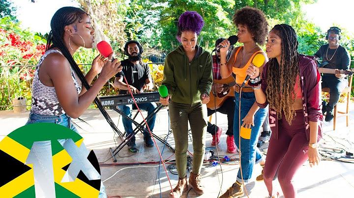 sevana jaz elise lila ik and naomi cowan  rock  groove riddim freestyle  1xtra jamaica 2020