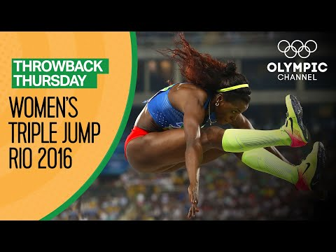 Women's Triple Jump Final at Rio 2016 | Throwback Thursday
