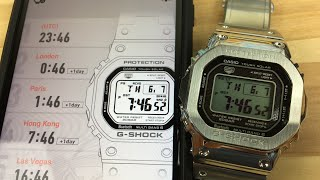 Gshock connected app gmw-b5000