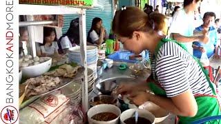 LUNCHTIME IN BANGKOK - Thai Street Food In Bang Kapi