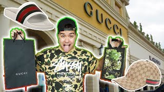 CHRISTMAS SHOPPING AT THE GUCCI OUTLET!! ($1000)