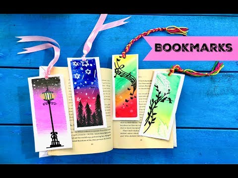 Popular Videos - Bookmarks & Watercolor painting