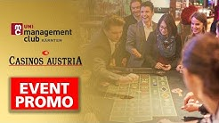 📅 Event Promotion: Casino Velden Insights des Uni Management Clubs Kärnten