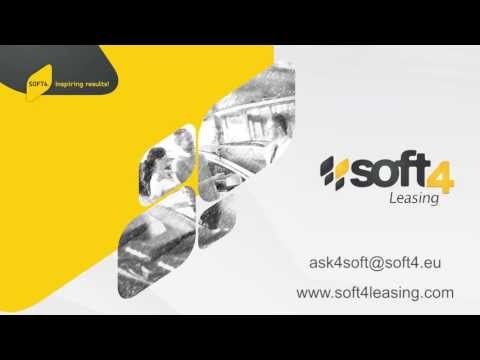 Soft4Leasing demo scenario: New Capital Lease Contract