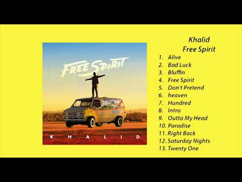 "Khalid - ""Free Spirit"" (Full Album)"