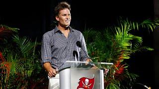 Tom Brady's Super Bowl LV Ring Ceremony Speech