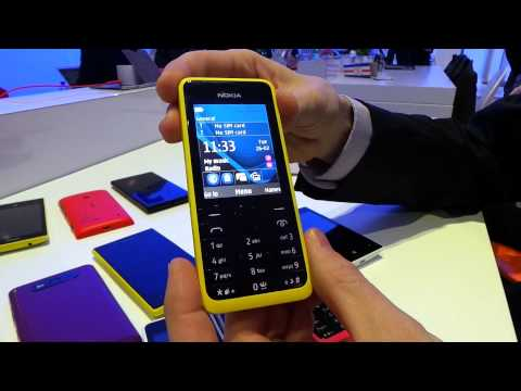 Primera toma de contacto con el Nokia 301 (MWC 2013)