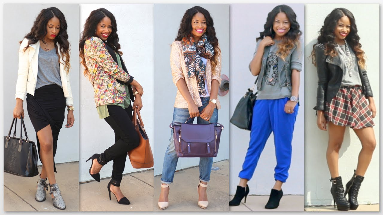 Fall Fashion Trends Lookbook Youtube