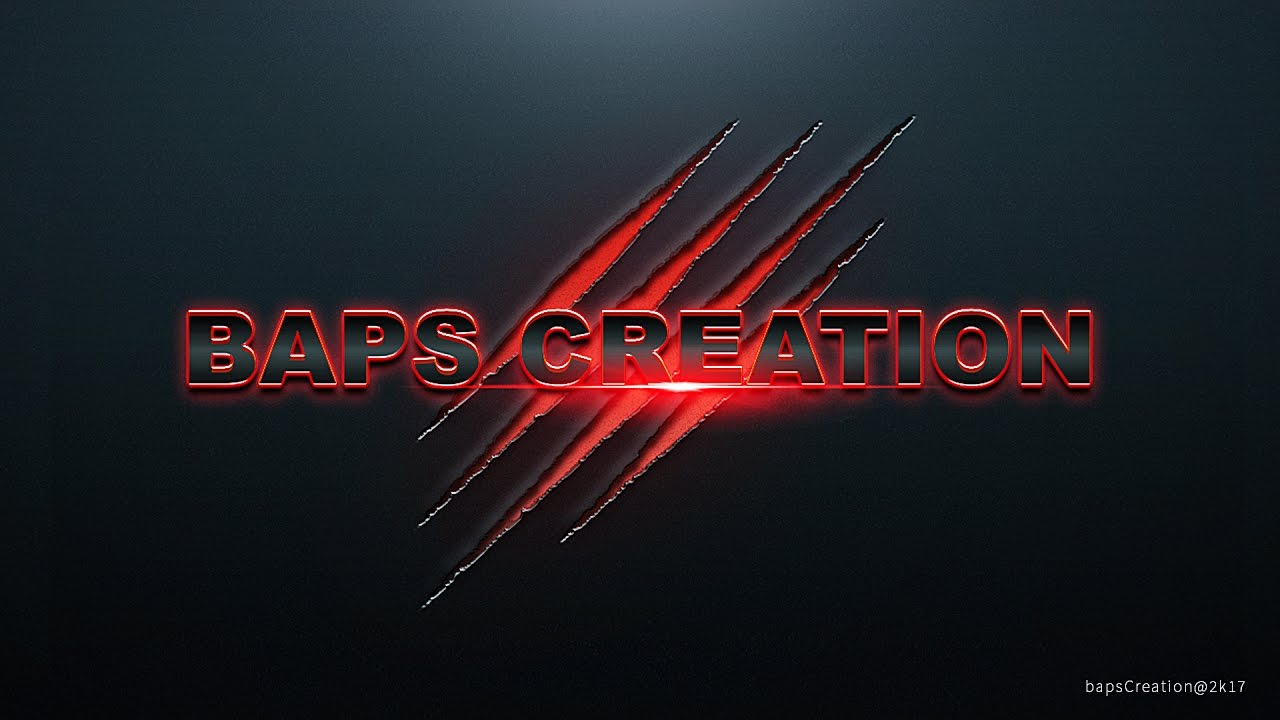 Photoshop Tutorial How To Create Your Own Name Wallpaper For Pc Baps Creation