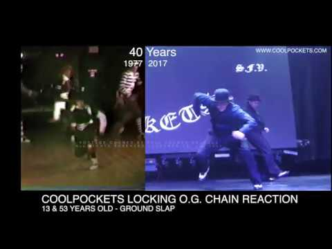 COOLPOCKETS 1977-2017 40 Years Of Locking -  Ground Slap Side by Side