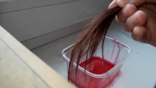 Как сделать дома самим краску для волос