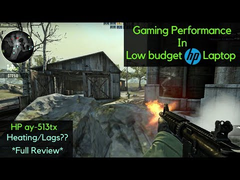 Gaming Review On HP Low Budget Laptop(HP ay-513tx) | Best Budget Laptop For Gaming & Multitasking ??