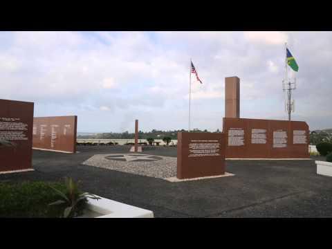 Iles Salomon War monument / Solomon islands War monument