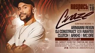 DJ Craze with MC Armanni Reign at Respect Los Angeles, 18.05.2017. ...