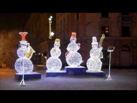 Murmansk winter illumination 2016 (Russia)