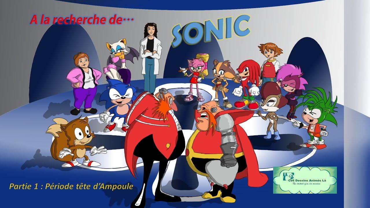 61 a la recherche de sonic partie 1 ces dessins anim s l qui m ritent qu 39 on s 39 en souvienne - Dessin anime sonic ...