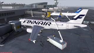 Microsoft Flight Simulator X   Helsinki (EFHK) - Stockholm (ESSA)   Aerosoft Airbus A320