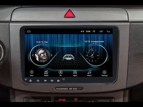 Штатная магнитола Volkswagen универсальная Android TA095