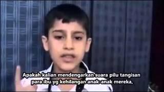 Tangisan Anak Palestina