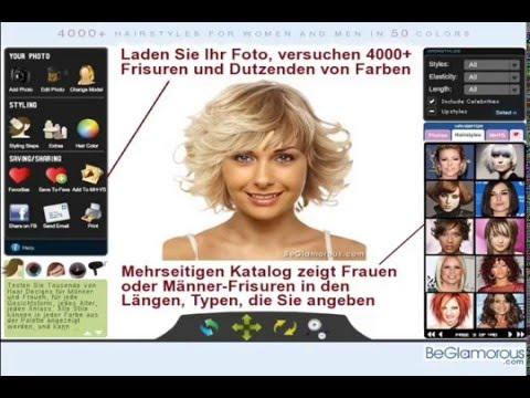 Frisuren Testen.com -- Laden Sie Ihr Foto, Versuchen Virtuellen Frisuren, Haarfarbe zu Ändern Online