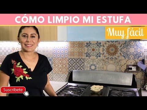 Cómo limpiar la estufa muy sucia facilmente |Cocina de Addy