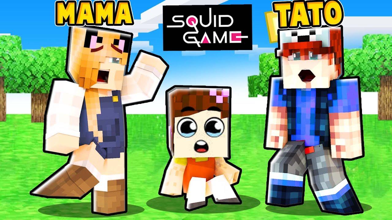 ADOPTOWALIŚMY LALKĘ ZE SQUID GAME! (Minecraft Roleplay)   Vito i Bella