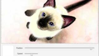 """Siamese"" Speed Painting (Facebook Graffiti) Art by Lena P. #13"