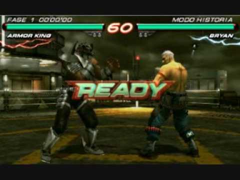 Tekken 6 Psp Iso Completo Youtube