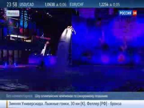 Москва. Шоу олимпийских чемпионов по синхронному плаванию