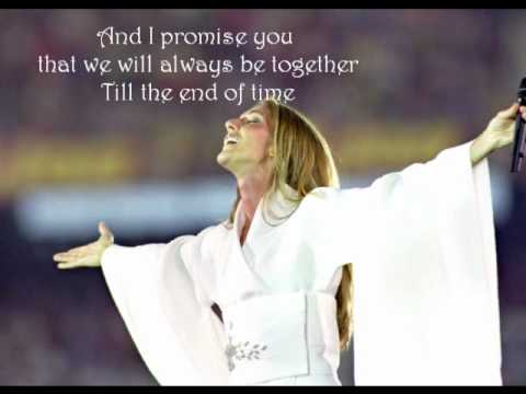 Celine Dion - I Love You ( Lyrics )