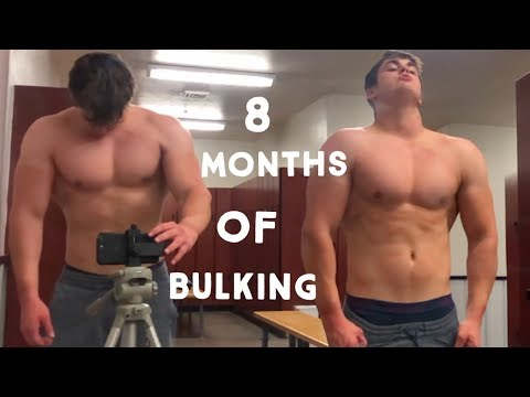8 MONTHS OF NATURAL BULKING | TEENAGE BODYBUILDING