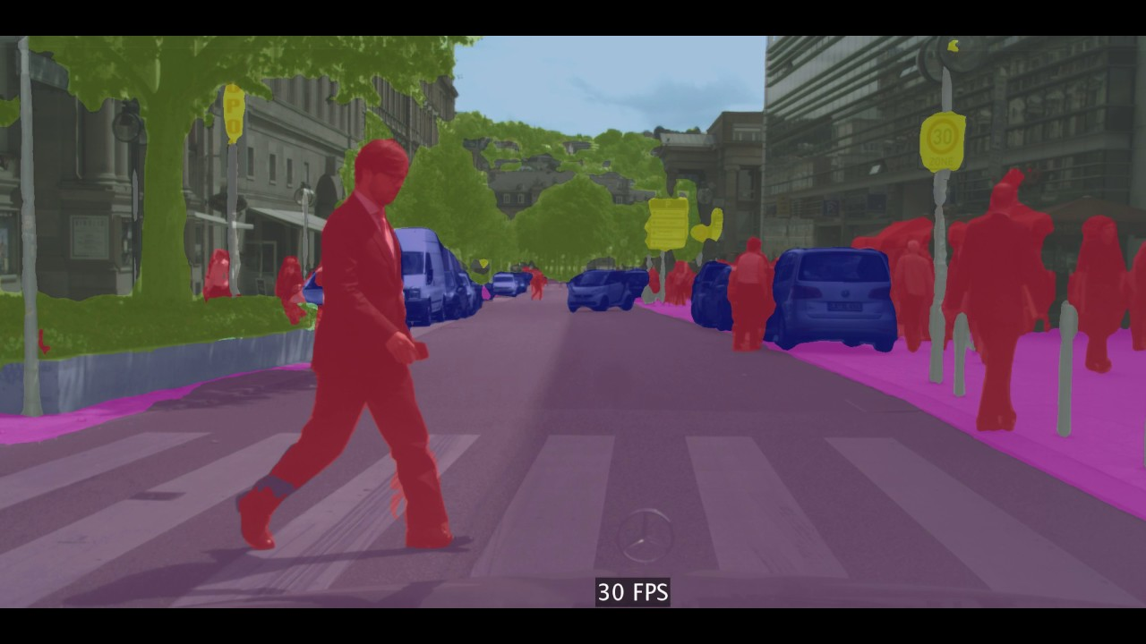 Papers With Code : Real-Time Semantic Segmentation