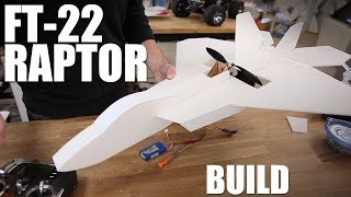 Flite Test - Ft-22 Raptor - Build