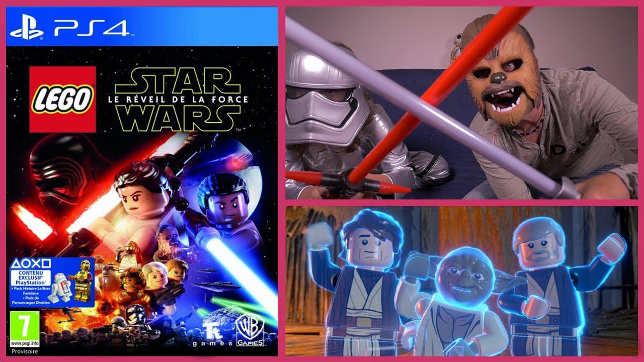 jeu video ps4 lego star wars le réveil de la force