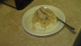 Pressure Cooker Pork And Sauerkraut