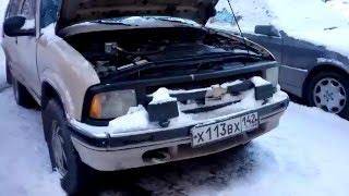 Chevy Blazer `95 в Сибири, часть 2: Обзор снаружи и салон